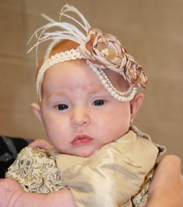 Eliana baptism